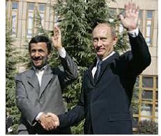 Amadinajad and Putin