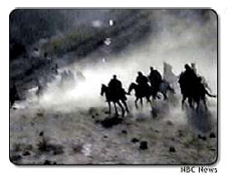 Arabs Charge on Horseback