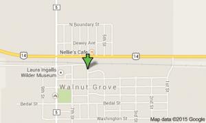 Map of Walnut Grove