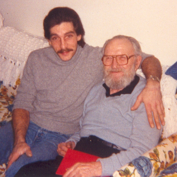 """My """"Daddy, """" Walter C. Van Nuys, and Our Son, Douglas Younce"""