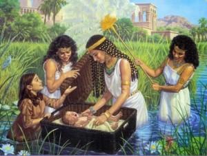 Pharoah's Daughter Finds Moses